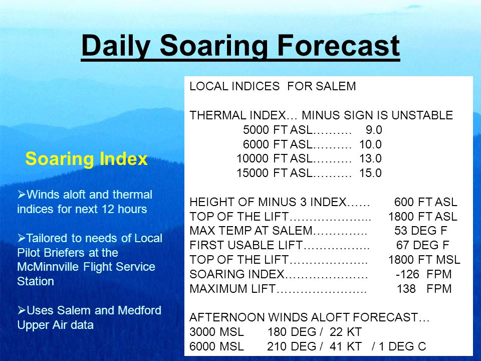 AIRMETs  Areas of Moderate Turbulence  Areas of Moderate Icing and freezing levels  Areas of IFR Conditions and mountain obscurations  Strong Convective Areas  Volcanic Ash Tracks  Issued at 13 UTC, 19 UTC 01 UTC, and 07 UTC -- Updated as needed AIRMET SIERRA UPDT 3 FOR IFR AND MTN OBSCN VALID UNTIL 140300.