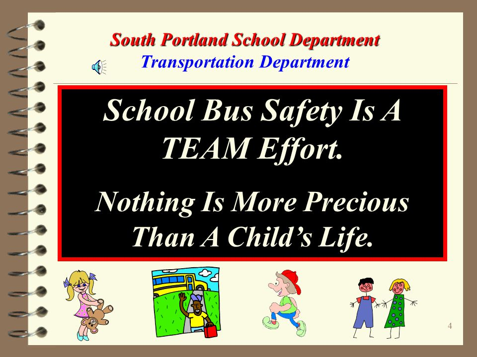 14 South Portland School Department South Portland School Department Transportation Department
