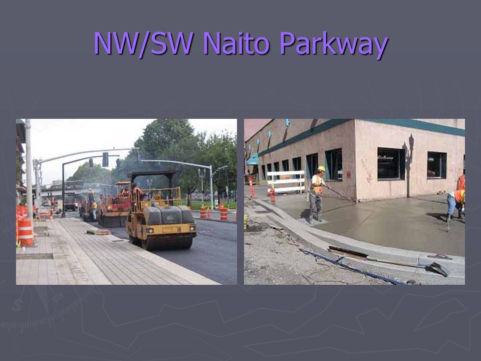 NW/SW Naito Parkway