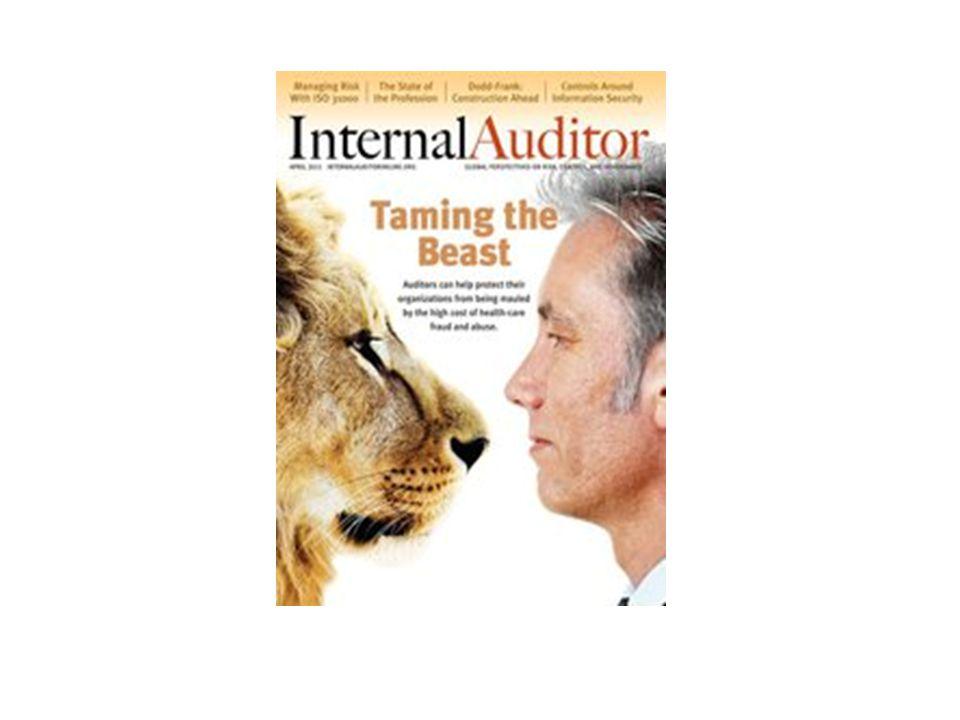 Institute of Internal Auditors – Portland Chapter January 21, 2011 / KOIN Tower / Portland, Oregon