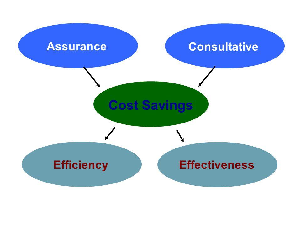 Institute of Internal Auditors – Portland Chapter January 21, 2011 / KOIN Tower / Portland, Oregon Cost Savings EfficiencyEffectiveness Assurance Cons