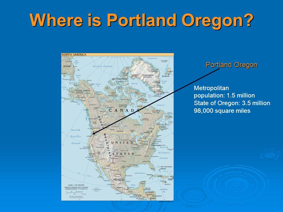 Where is Portland Oregon.
