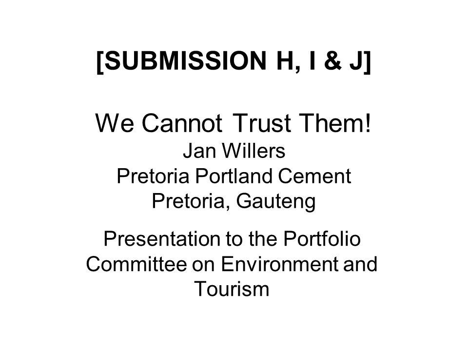 21 November 2007Portfolio Committee on Environment & Tourism 2 Who am I.