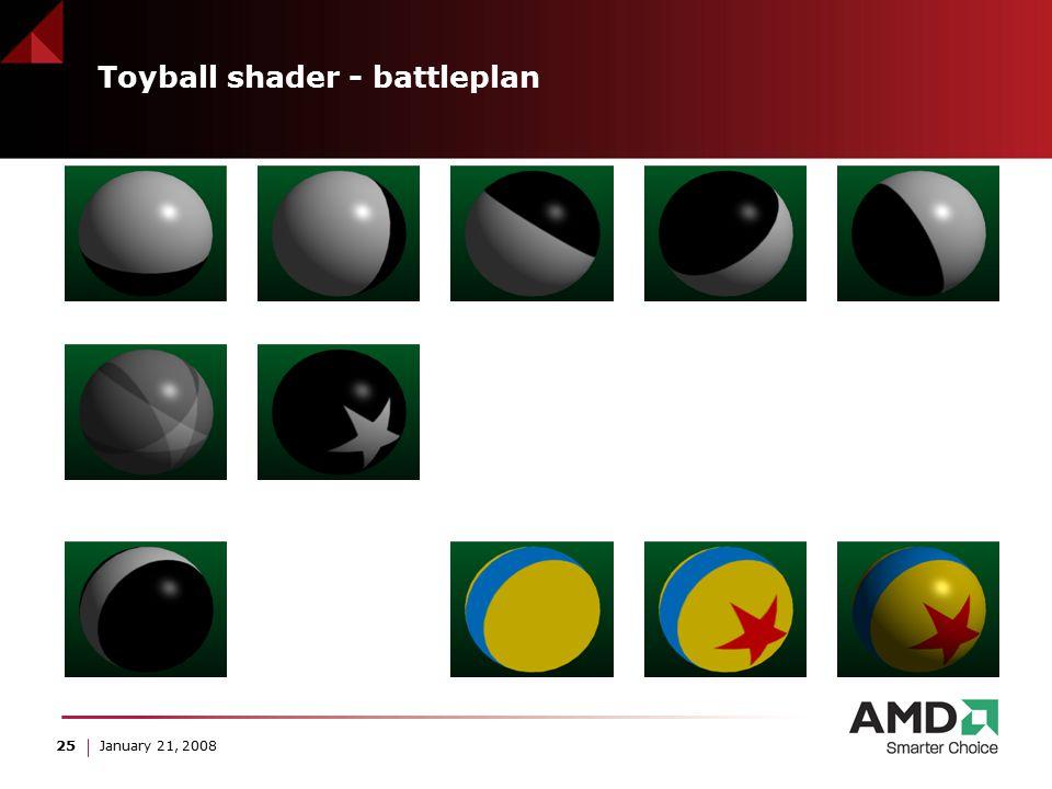 25 January 21, 2008 Toyball shader - battleplan