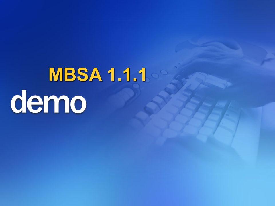 MBSA 1.1.1
