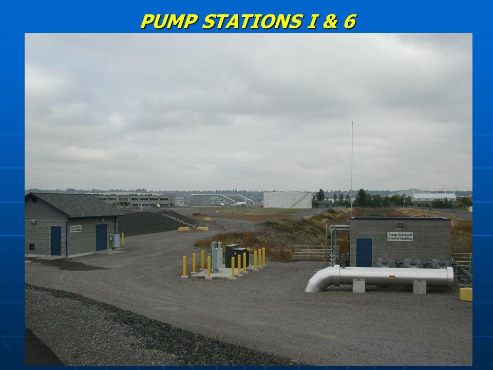 PUMP STATIONS I & 6