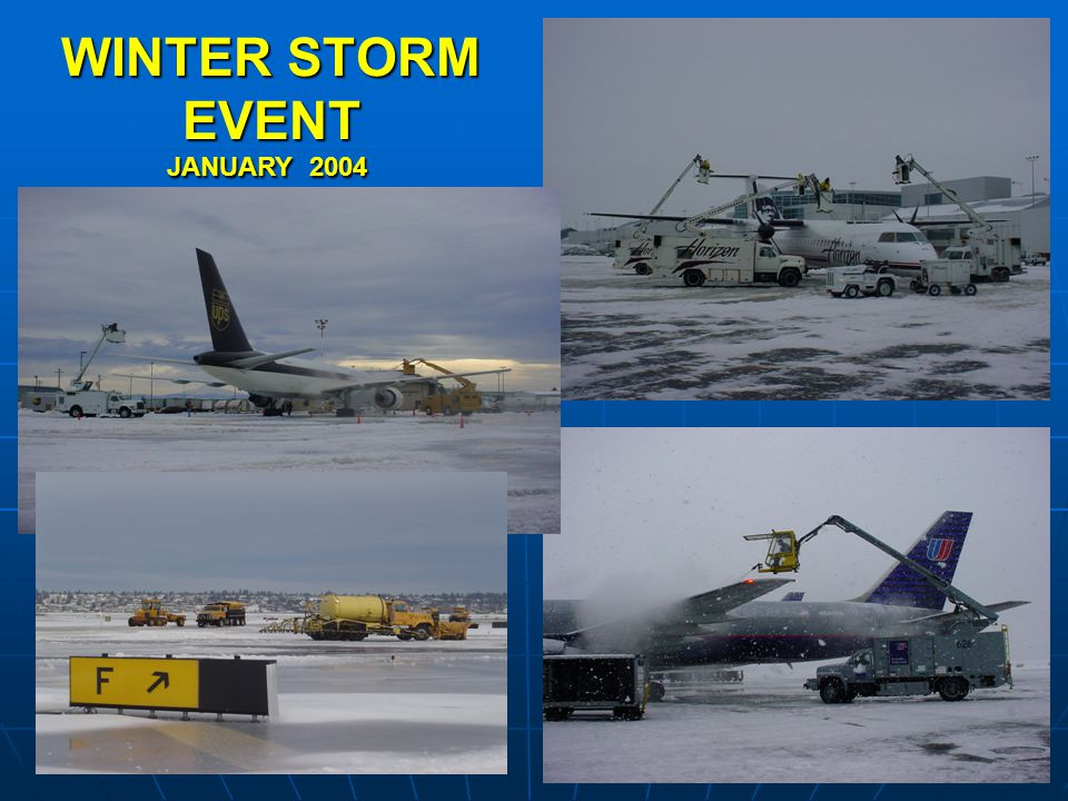 WINTER STORM EVENT JANUARY 2004