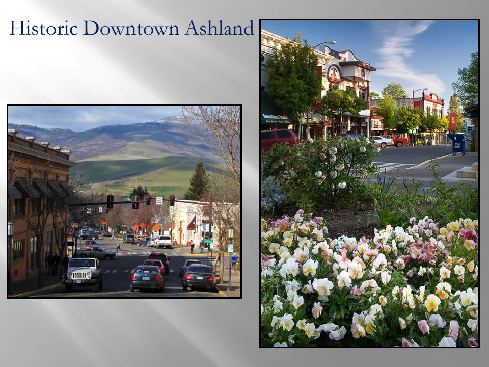 Historic Downtown Ashland