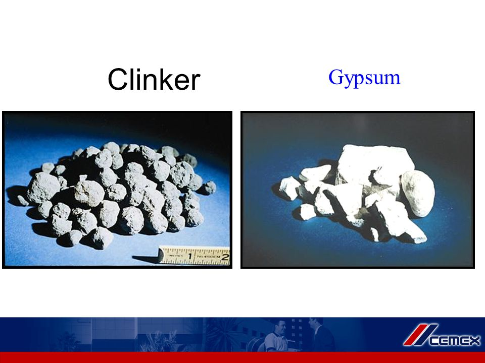 Clinker Gypsum