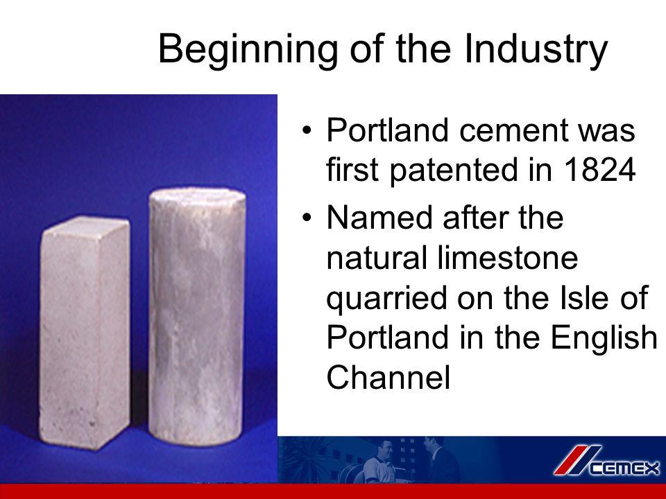 Major Phases of Cement Components Alite = impure tricalcium silicate (C 3 S)50% Belite = impure dicalcium silicate (C 2 S)25% Aluminate = tricalcium aluminate (C 3 A)8% Ferrite = tetracalcium aluminoferrite (C4AF) 12%