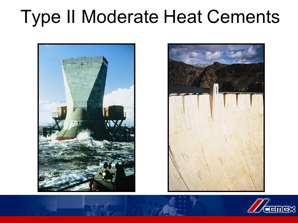Type II Moderate Heat Cements