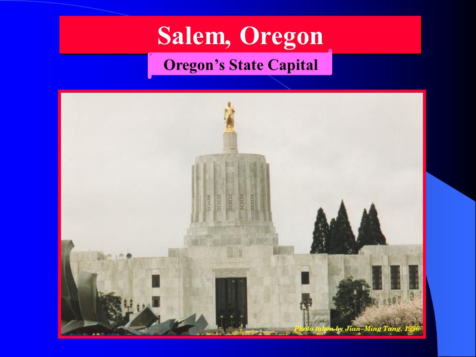 Oregon's State flag Front ViewReverse View