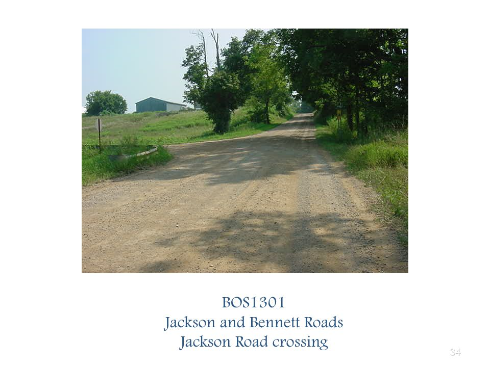 34 BOS1301 Jackson and Bennett Roads Jackson Road crossing