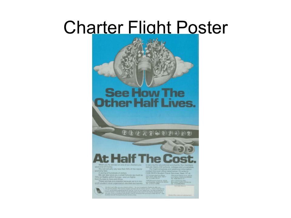 Charter Flight Poster