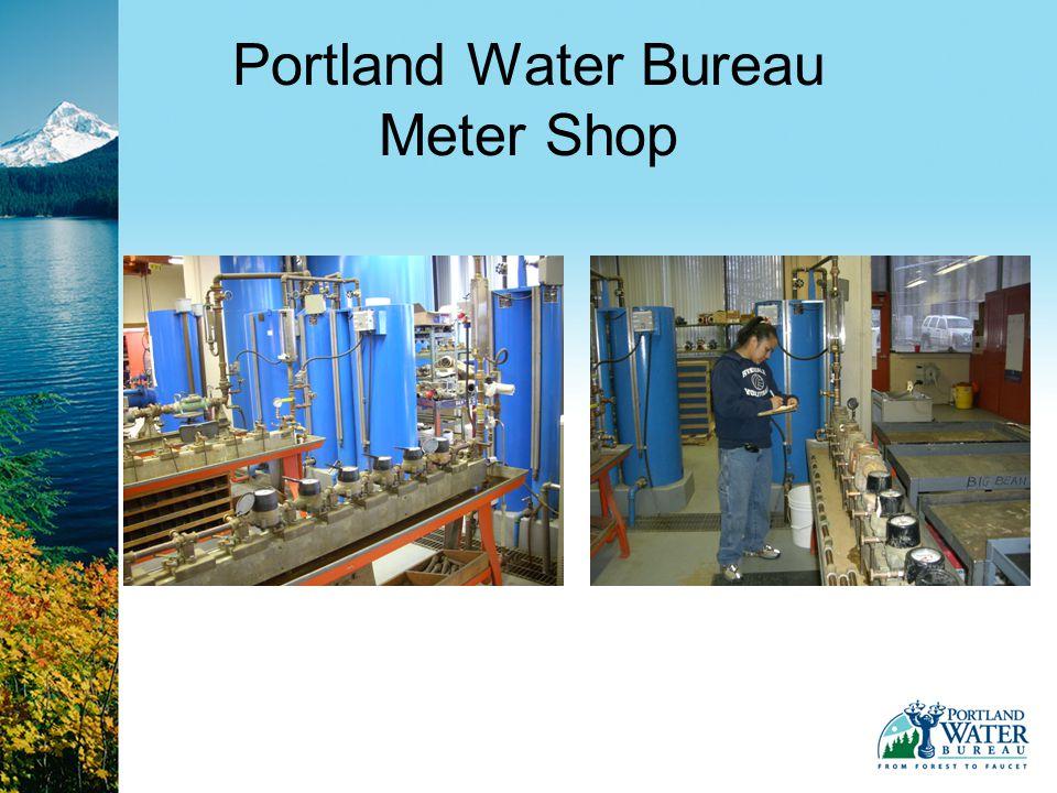 Portland Water Bureau Meter Shop
