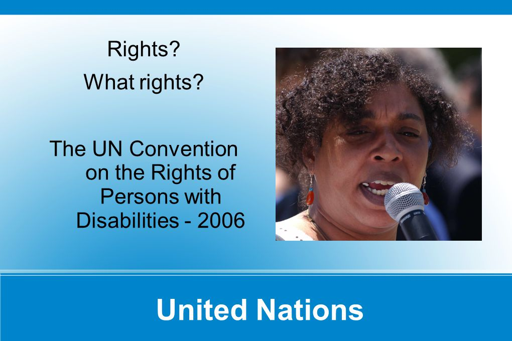 United Nations Rights. What rights.