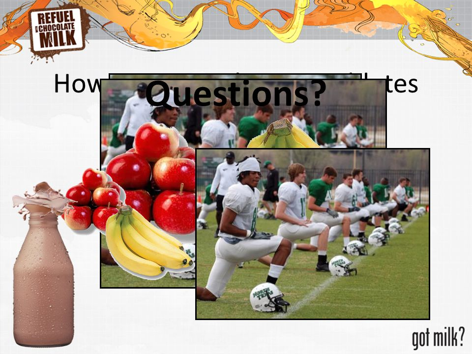 How Do You Help Your Athletes Recover? Questions?