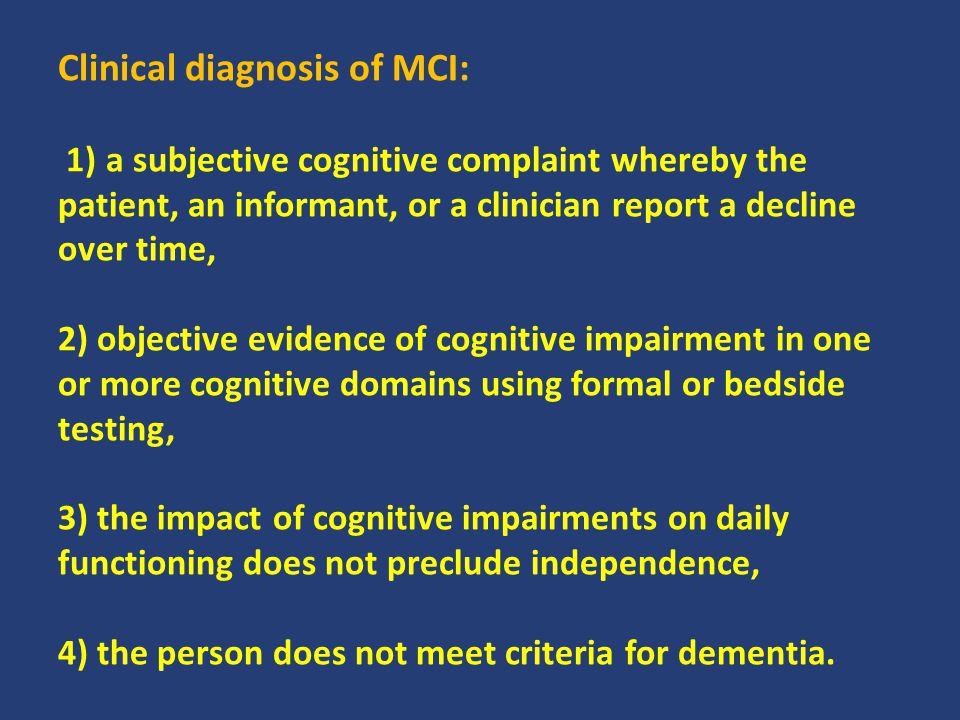 1) Restorative cognitive training most directly targets cognitive compromise (a).