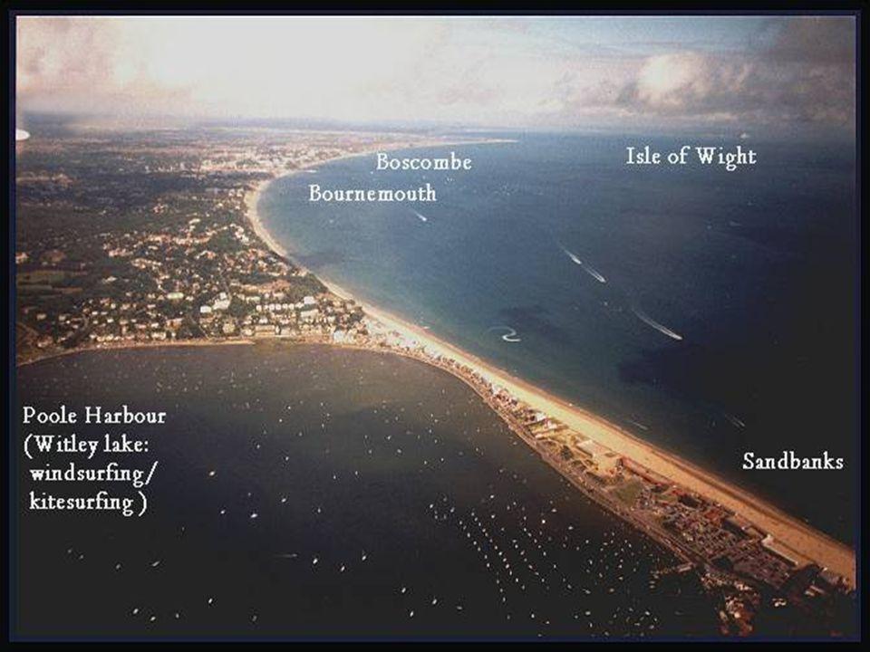 Day 5 – Sandbanks to Barton on Sea and the Isle of White