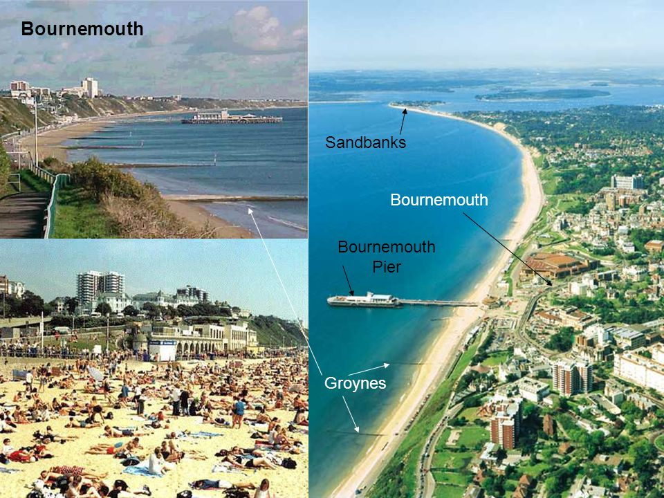 Bournemouth Sandbanks Bournemouth Pier Bournemouth Groynes