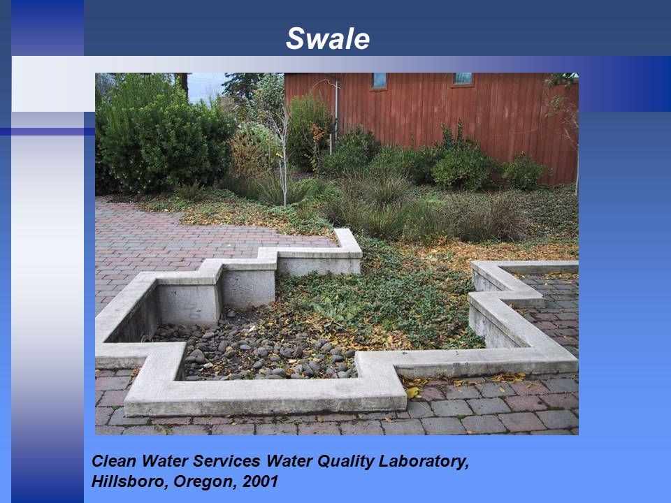 Swale Clean Water Services Water Quality Laboratory, Hillsboro, Oregon, 2001