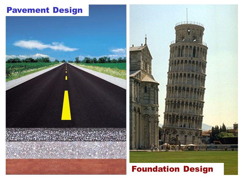 Pavement Design Foundation Design