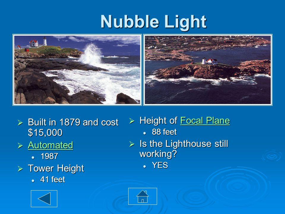 Cape Neddick Lighthouse  Maine's southernmost lighthouse.