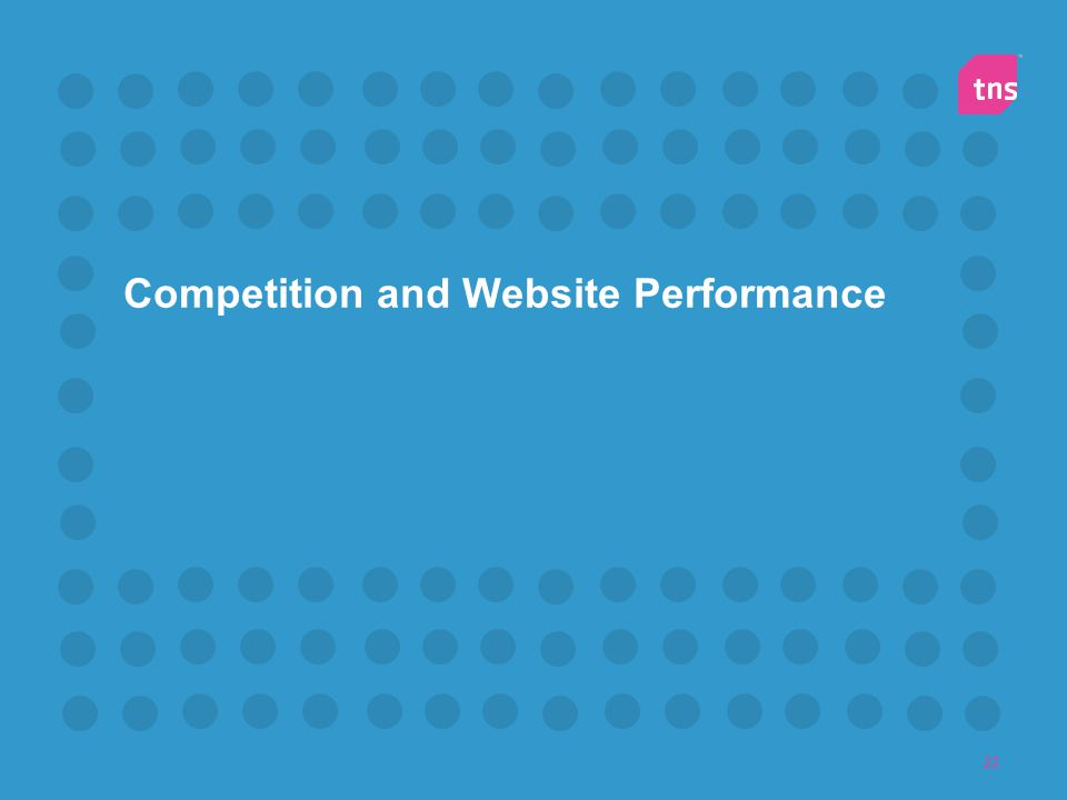 22 Competition and Website Performance