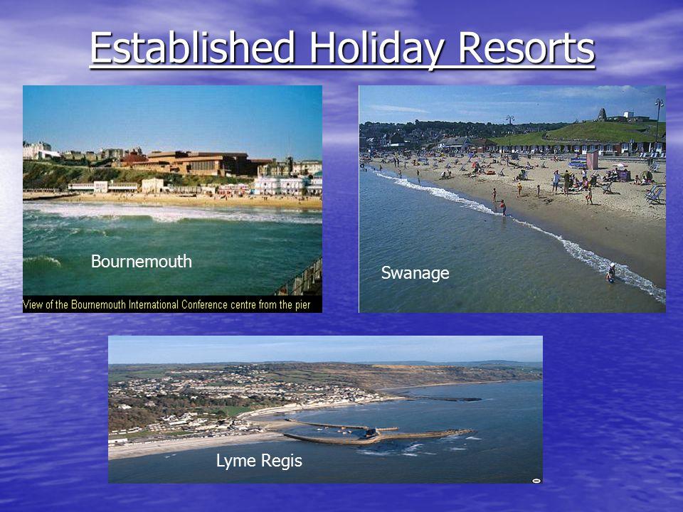 Established Holiday Resorts Swanage Lyme Regis Bournemouth