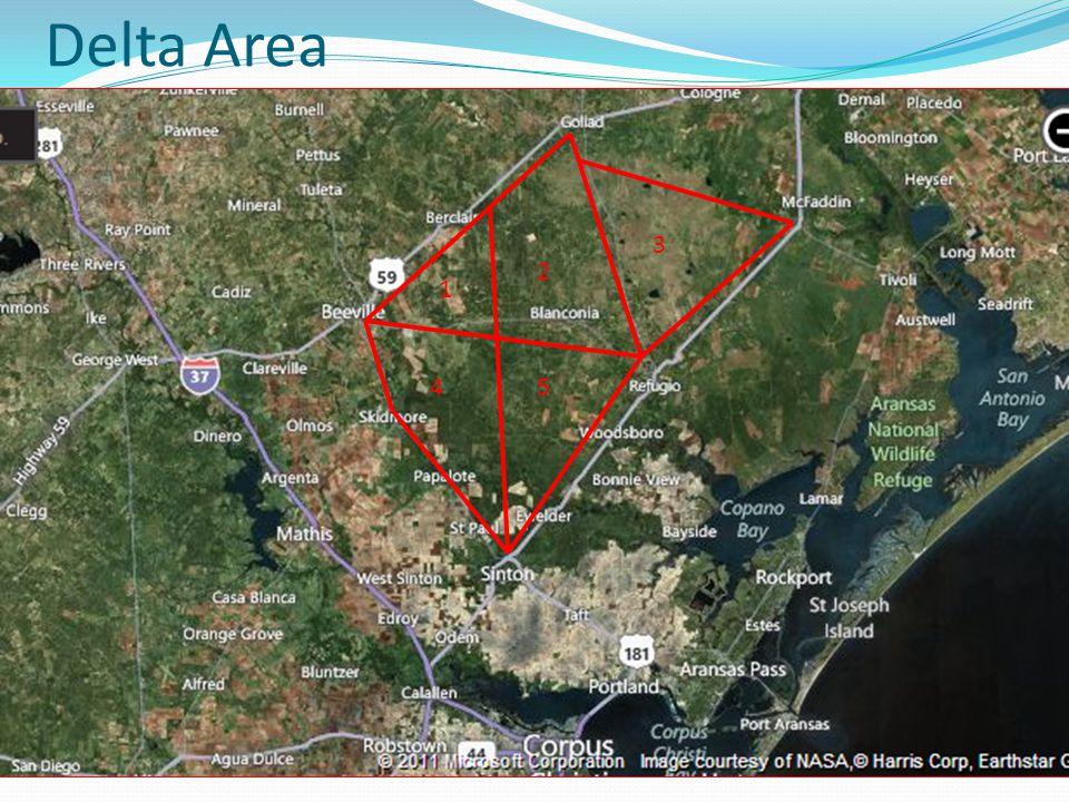 Delta Area 1 2 45 3