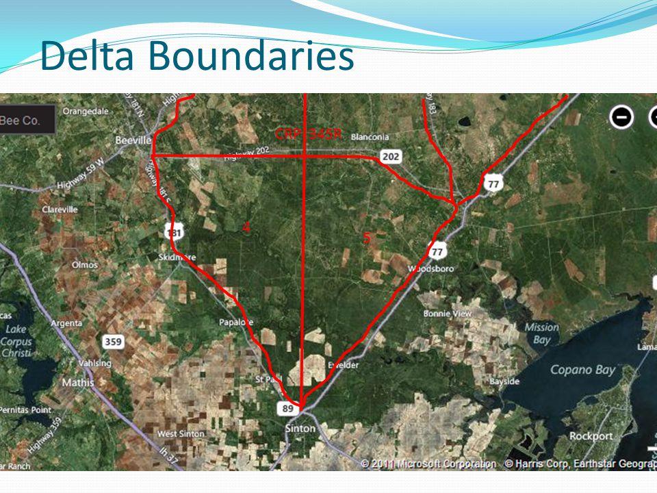 Delta Boundaries 4 5 CRP 345R