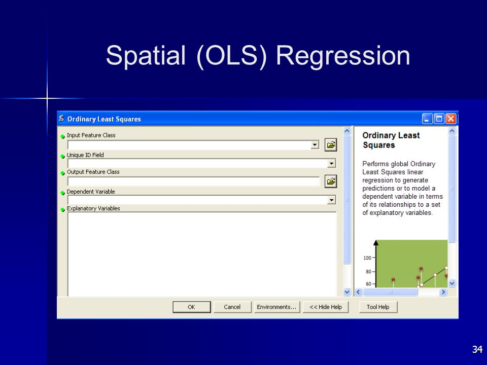 34 Spatial (OLS) Regression