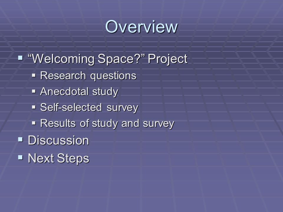 Project: Survey Results  When you come to the Library, do you come to do research.