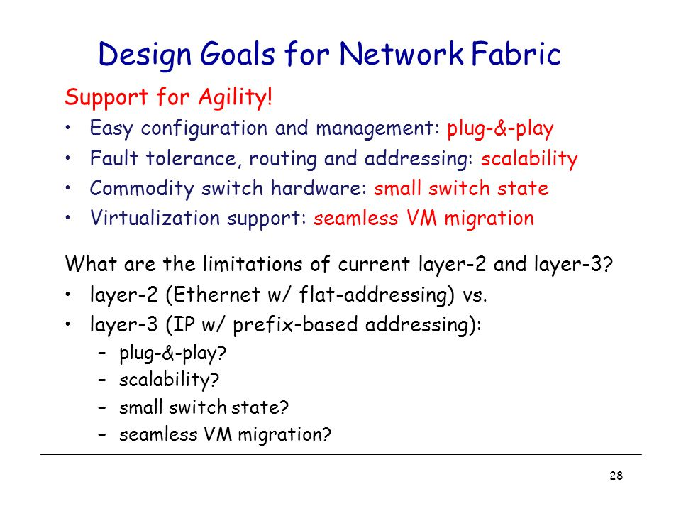 Design Goals for Network Fabric Support for Agility.