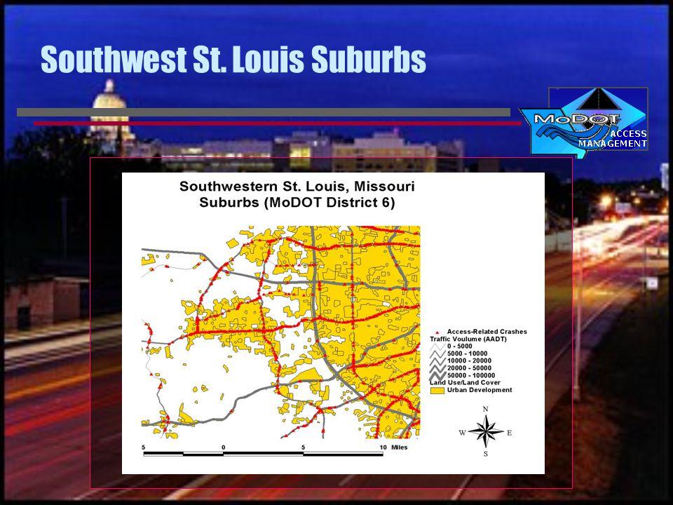 Southwest St. Louis Suburbs