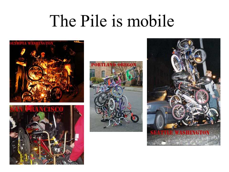 The Pile is mobile