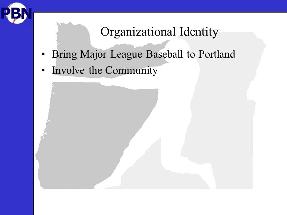 Organizational Identity Bring Major League Baseball to Portland Involve the Community