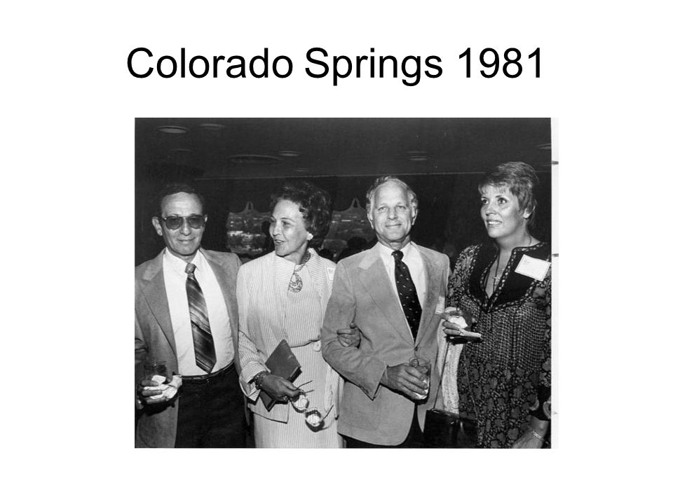 Colorado Springs 1981