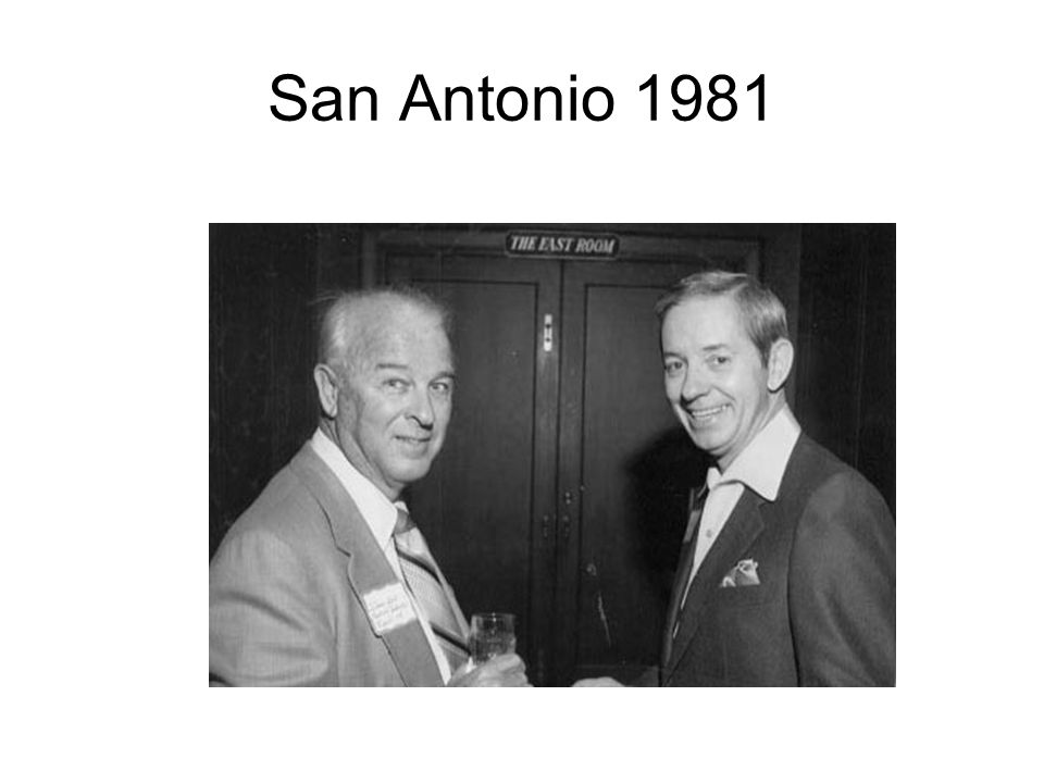 San Antonio 1981