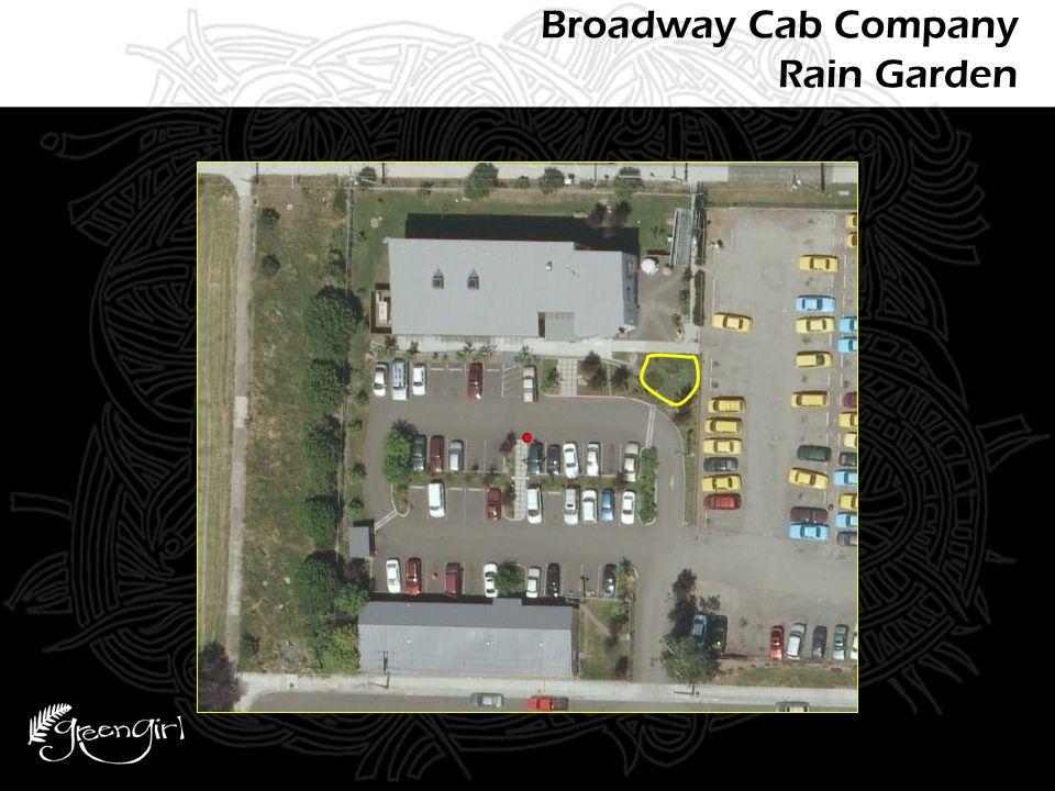 Broadway Cab Company Rain Garden