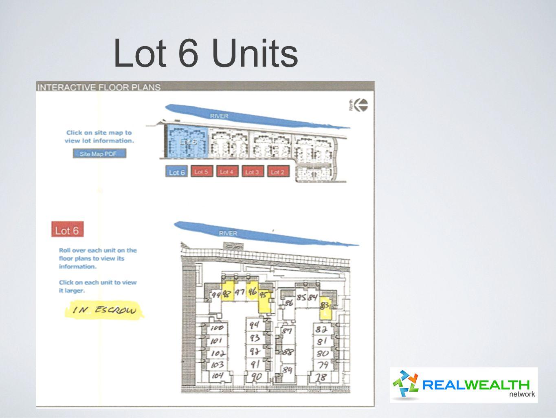 Lot 6 Units