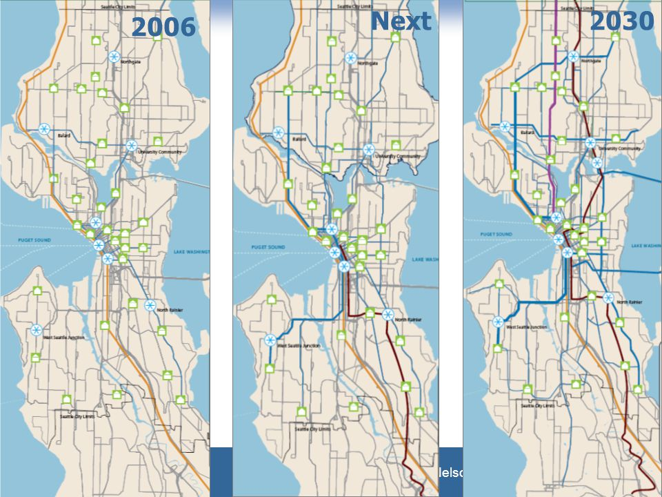 What Makes Streetcars Work Nelson\Nygaard Consulting Associates 2006 Next2030