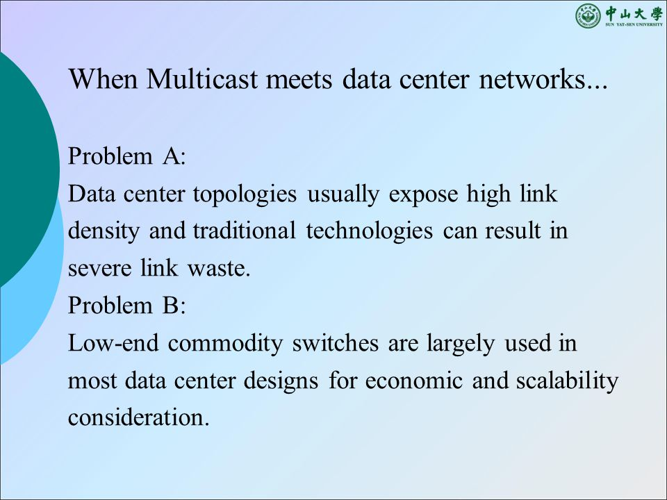 When Multicast meets data center networks...