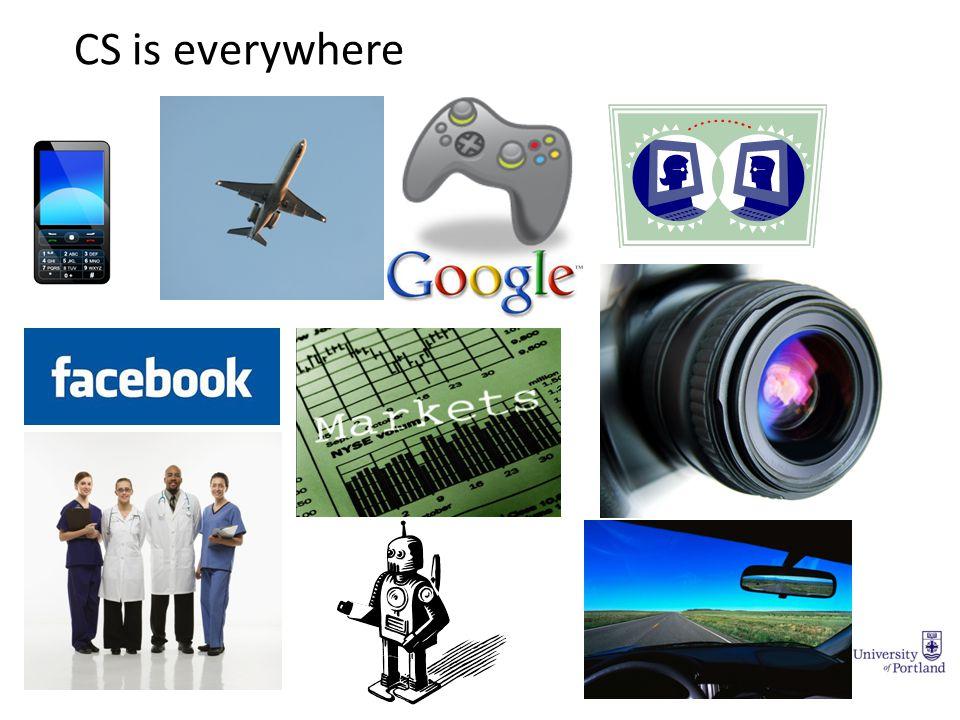 CS is everywhere