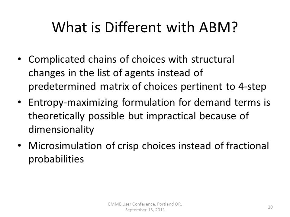What is Different with ABM.