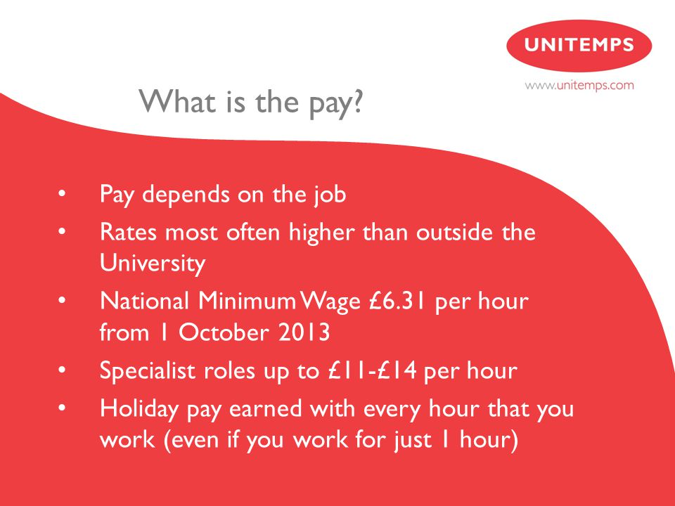 What is the pay.