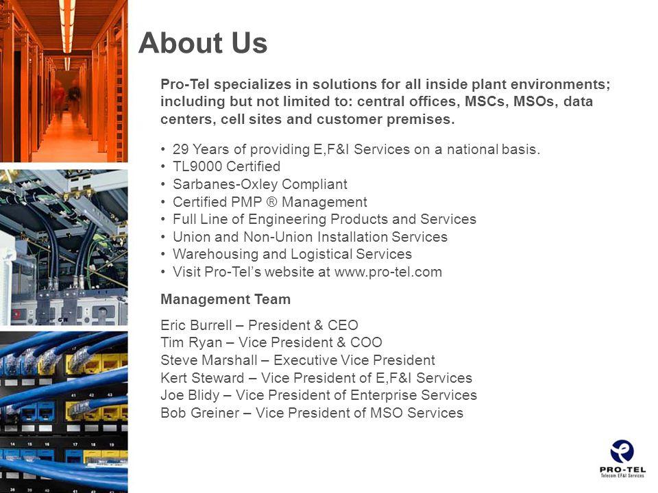 Operating Units Professional Teleconcepts, Inc.