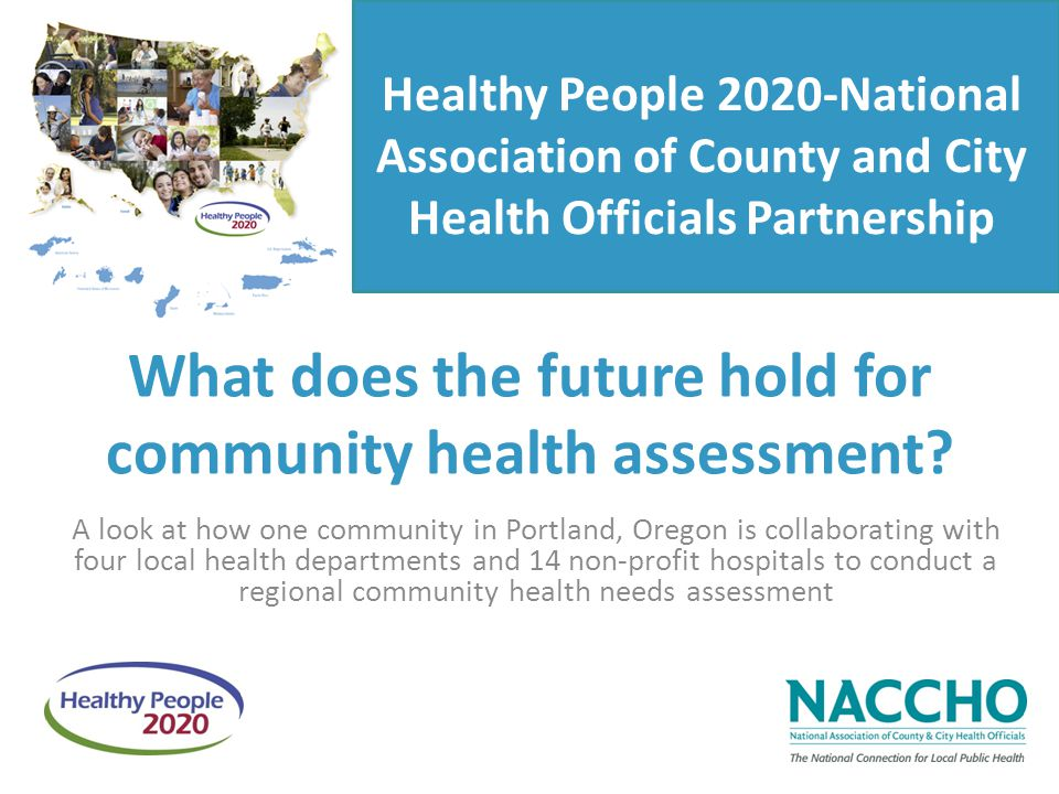 What does the future hold for community health assessment.
