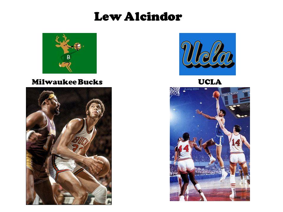 Lew Alcindor Milwaukee BucksUCLA