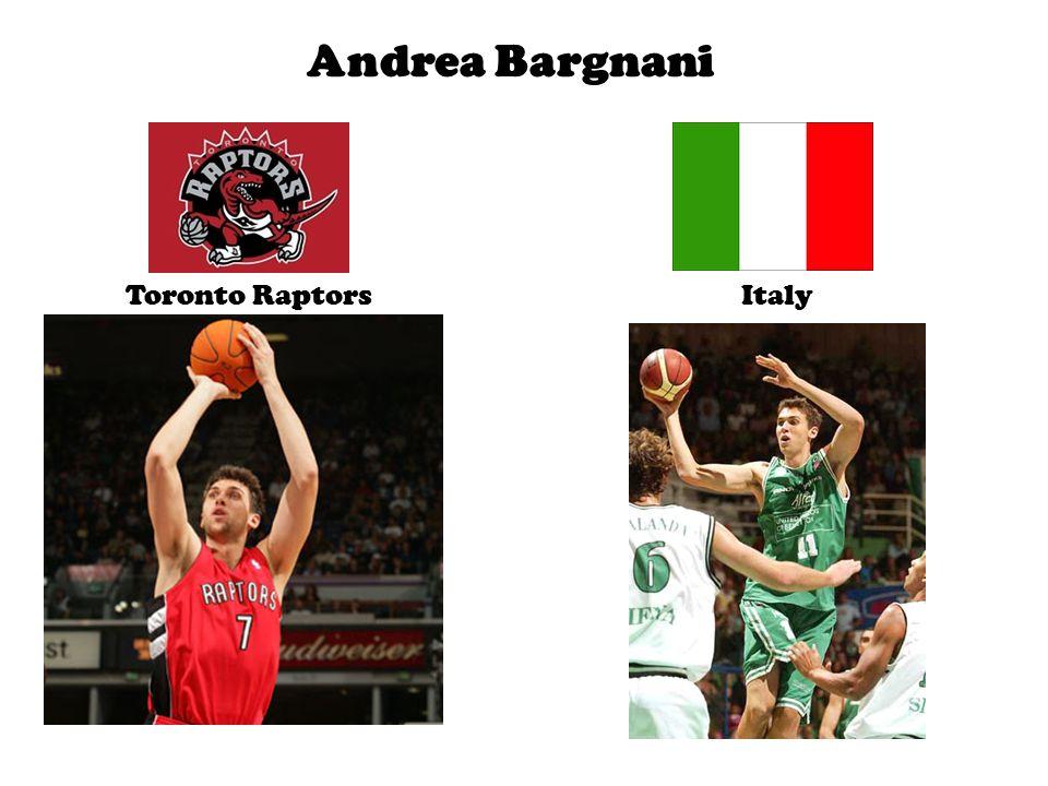 Andrea Bargnani Toronto RaptorsItaly